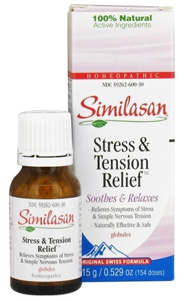 DROPPED: Similasan - Stress & Tension Relief Globules - 0.52 oz.