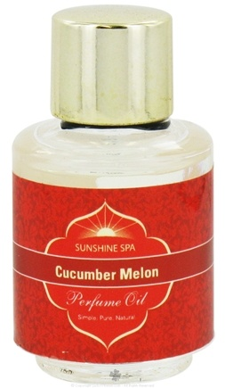 DROPPED: Sunshine Spa - Perfume Oil Cucumber Melon - 0.25 oz. CLEARANCE PRICED