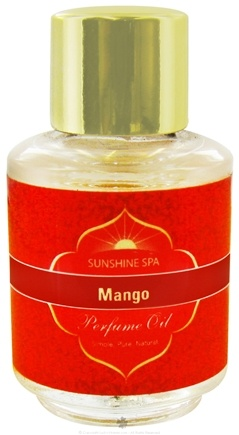 DROPPED: Sunshine Spa - Perfume Oil Mango - 0.25 oz. CLEARANCE PRICED