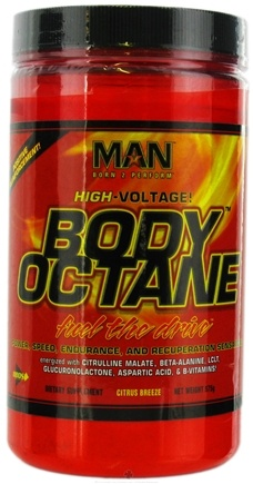 DROPPED: MAN Sports - High Voltage Body Octane Citrus Breeze - 575 Grams