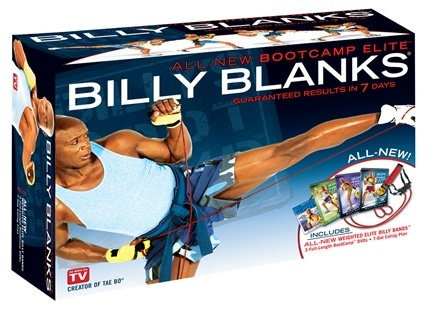 DROPPED: Gaiam - Billy Blanks Bootcamp Elite Kit