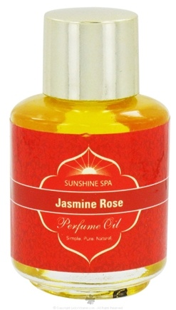 Sunshine Spa - Perfume Oil Jasmine Rose - 0.25 oz.