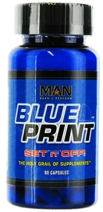 DROPPED: MAN Sports - Blueprint - 80 Capsules CLEARANCE PRICED
