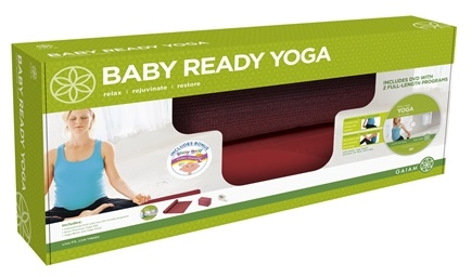 DROPPED: Gaiam - Baby Ready Yoga Kit - CLEARANCE PRICED