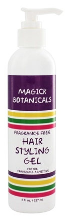 Magick Botanicals - Hair Styling Gel Fragrance Free - 8 oz.