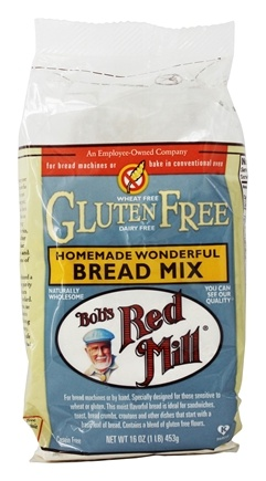 Bob's Red Mill - Gluten Free Homemade Wonderful Bread Mix - 16 oz.