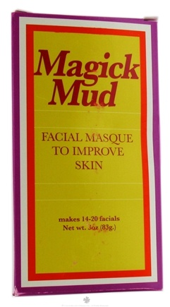 DROPPED: Magick Botanicals - Magick Mud Facial Masque To Improve Skin - 3 oz. CLEARANCE PRICED