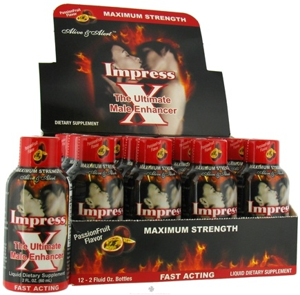 DROPPED: Nature's Answer - ImpressX The Ultimate Male Enhancer Passion Fruit - 2 oz.