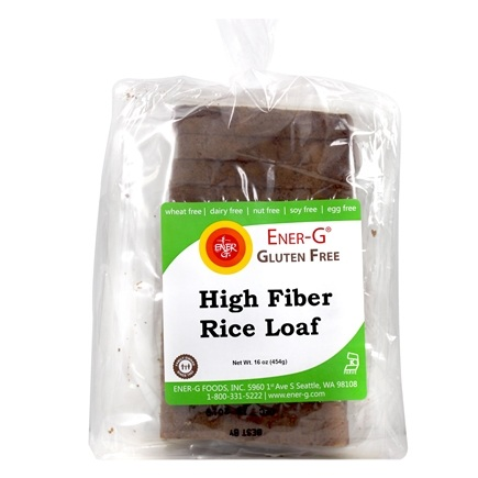 Ener-G - Gluten Free Bread High Fiber Loaf - 16 oz. LUCKY PRICE