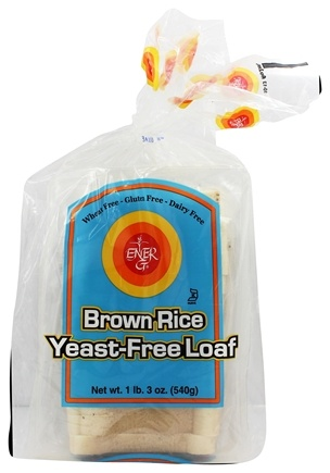 Ener-G - Gluten Free Bread Brown Rice Yeast-Free Loaf - 19 oz. LUCKY PRICE
