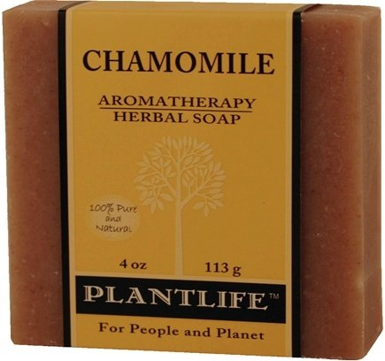 DROPPED: Plantlife Natural Body Care - Aromatherapy Herbal Soap Chamomile - 4 oz. CLEARANCE PRICED