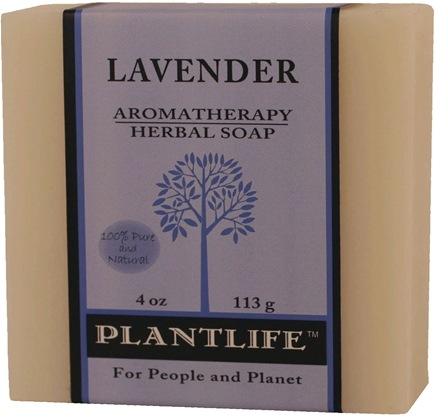 DROPPED: Plantlife Natural Body Care - Aromatherapy Herbal Soap Lavender - 4 oz.