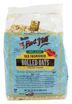 Bob's Red Mill - Organic Rolled Oats Old Fashioned - 32 oz.