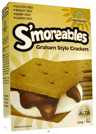 Kinnikinnick Foods - S'moreables Graham Style Crackers - 8 oz.