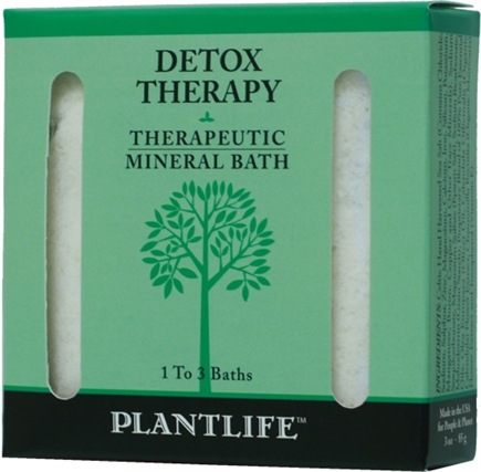 DROPPED: Plantlife Natural Body Care - Therapeutic Mineral Bath Detox Therapy - 3 oz. CLEARANCE PRICED
