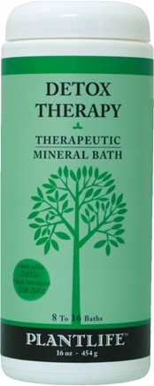 DROPPED: Plantlife Natural Body Care - Therapeutic Mineral Bath Detox Therapy - 16 oz. CLEARANCE PRICED