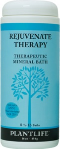 DROPPED: Plantlife Natural Body Care - Therapeutic Mineral Bath Rejuvenate Therapy - 16 oz. CLEARANCE PRICED