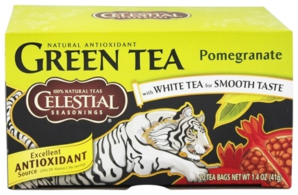 DROPPED: Celestial Seasonings - Green Tea Pomegranate - 20 Tea Bags