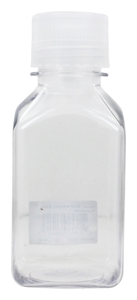 Nalgene - Transparent Lexan Square Storage Bottle - 8 oz.