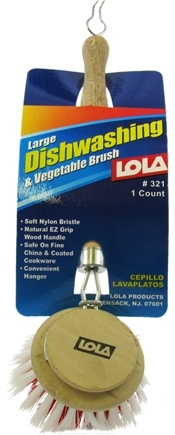DROPPED: Lola - Dishwashing and Vegetable Brush Large