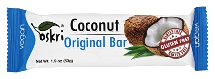 Oskri - Gluten Free Coconut Bar Original - 1.9 oz.