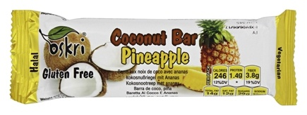 Oskri - Gluten Free Coconut Bar Pineapple - 1.9 oz.