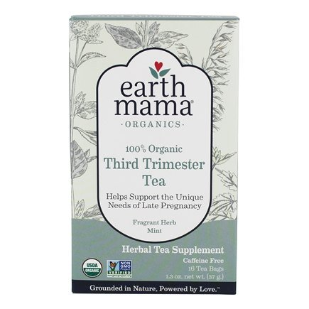Earth Mama Angel Baby - Organic Third Trimester Tea - 16 Tea Bags