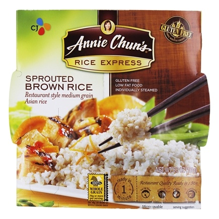 DROPPED: Annie Chun's - Rice Express Sprouted Brown Rice - 6.3 oz. CLEARANCE PRICED