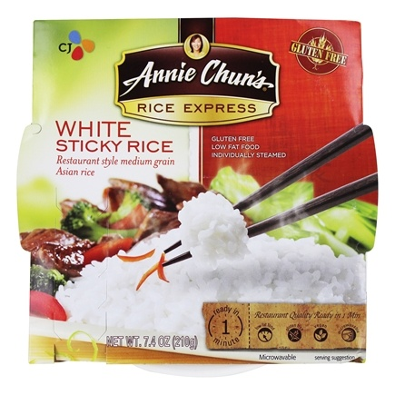 DROPPED: Annie Chun's - Rice Express Sticky White Rice - 7.4 oz.