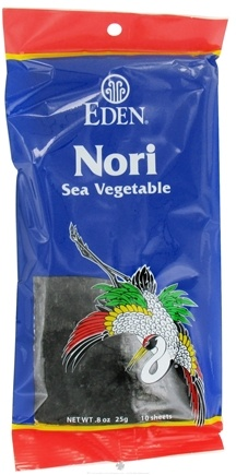 DROPPED: Eden Foods - Nori Sea Vegetable - 10 Piece(s) CLEARANCE PRICED