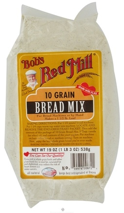 DROPPED: Bob's Red Mill - Bread Mix 10 Grain - 19 oz. CLEARANCE PRICED