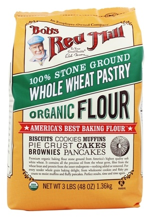 Bob's Red Mill - Organic Whole Wheat Pastry Flour - 48 oz.