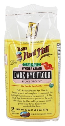 Bob's Red Mill - Organic Dark Rye Flour - 22 oz.