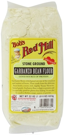 DROPPED: Bob's Red Mill - Garbanzo Bean Flour Stone Ground Gluten Free - 22 oz.