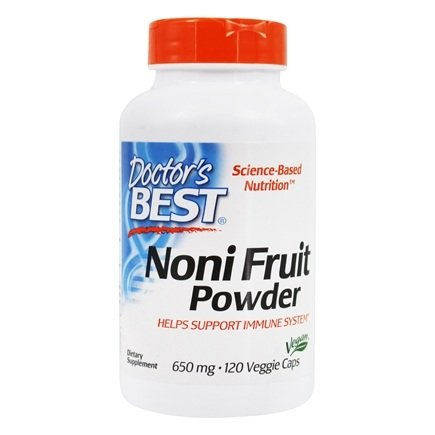 Doctor's Best - Best Noni Concentrate 650 mg. - 150 Vegetarian Capsules