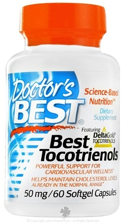 DROPPED: Doctor's Best - Best Tocotrienols 50 mg. - 60 Softgels