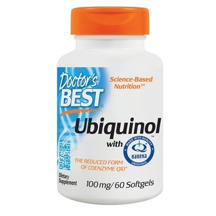 Doctor's Best - Best Ubiquinol featuring Kaneka's QH 100 mg. - 60 Softgels