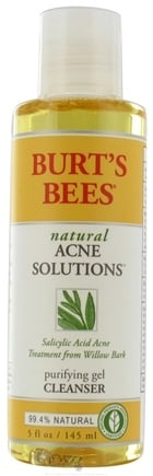 Burt's Bees - Natural Acne Solutions Purifying Gel Cleanser - 5 oz.