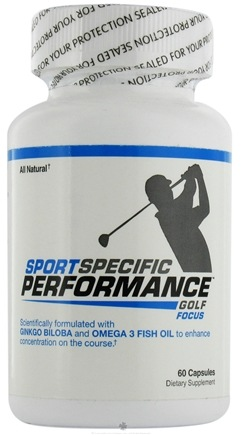 DROPPED: Sport Specific Performance - Golf Focus - 60 Capsules CLEARANCE PRICED