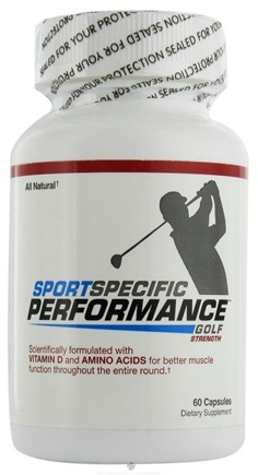 DROPPED: Sport Specific Performance - Golf Strength - 60 Capsules CLEARANCE PRICED