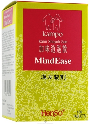 DROPPED: Honso Usa - Kampo4Women MindEase - 180 Tablets CLEARANCE PRICED