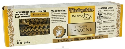 DROPPED: Tinkyada Pasta - Brown Rice Pasta Lasagne Organic - 10 oz. CLEARANCE PRICED