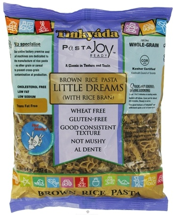 DROPPED: Tinkyada Pasta - Brown Rice Pasta Little Dreams With Rice Bran - 14 oz. CLEARANCE PRICED