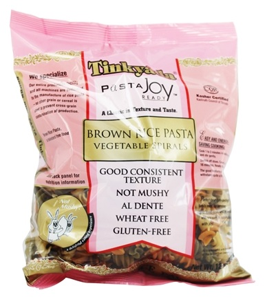 Tinkyada Pasta - Brown Rice Pasta Spirals Vegetable - 12 oz.