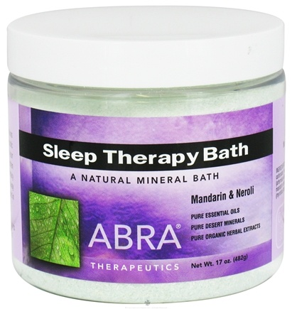 DROPPED: Abra Therapeutics - Sleep Therapy Bath Mandarin & Neroli - 17 oz. CLEARANCE PRICED