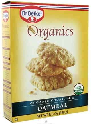 DROPPED: Dr. Oetker - Organics Cookie Mix Oatmeal - 12.3 oz. CLEARANCE PRICED