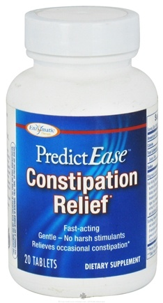 DROPPED: Enzymatic Therapy - PredictEase Constipation Relief - 20 Tablets