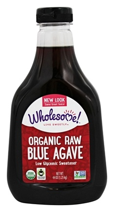 Wholesome! - Organic Raw Blue Agave - 44 oz.