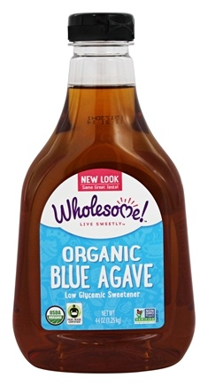 DROPPED: Wholesome Sweeteners - Organic Blue Agave - 44 oz. CLEARANCE PRICED