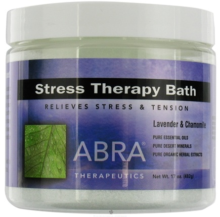 DROPPED: Abra Therapeutics - Stress Therapy Bath Lavender & Chamomile - 17 oz. CLEARANCE PRICED